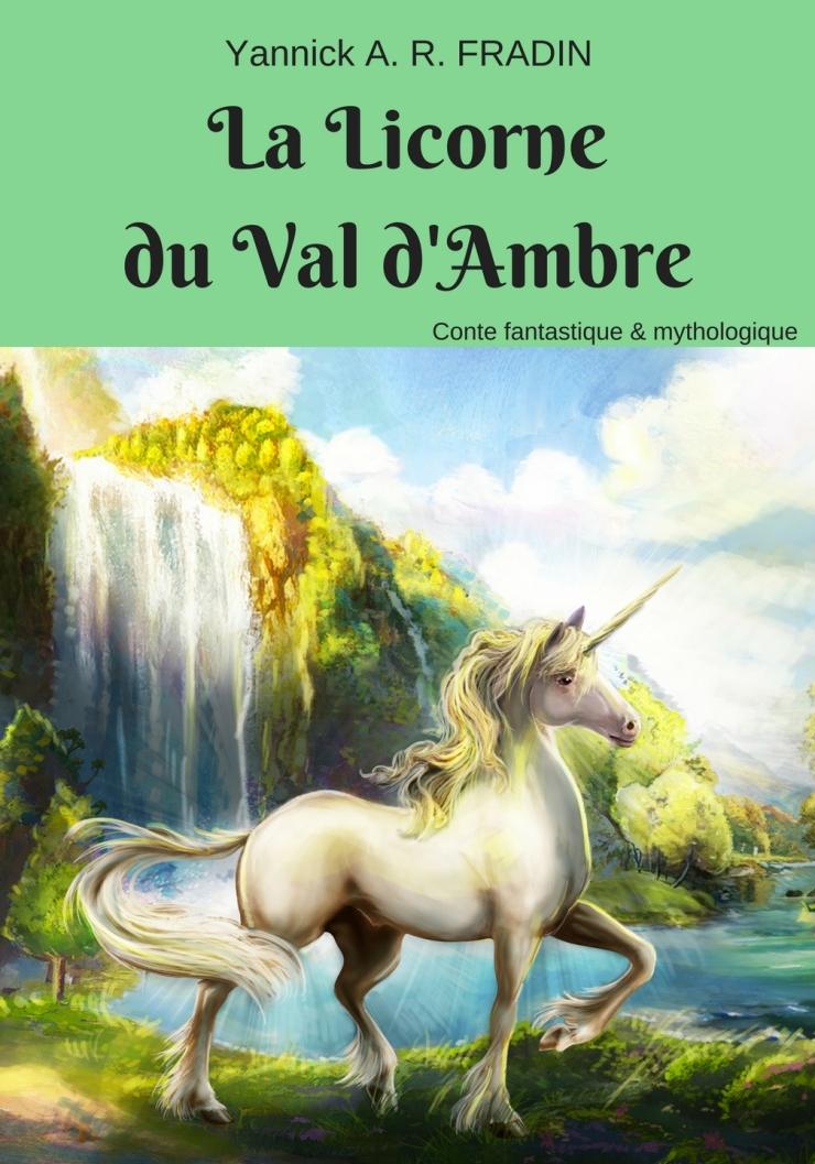 La Licorne du Val d'Ambre - face avant agrafé