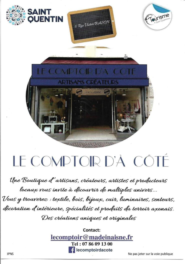 Flyer magasin Comptoir d'à Côté SQ