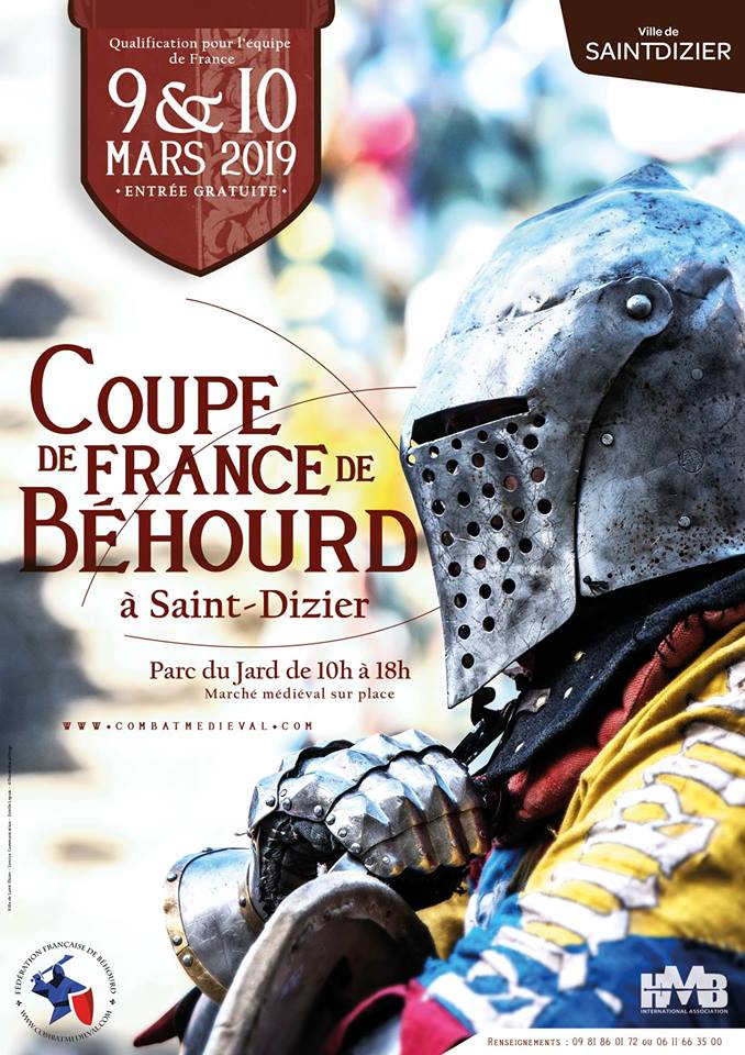 tournoi béhourd saint dizier 2019