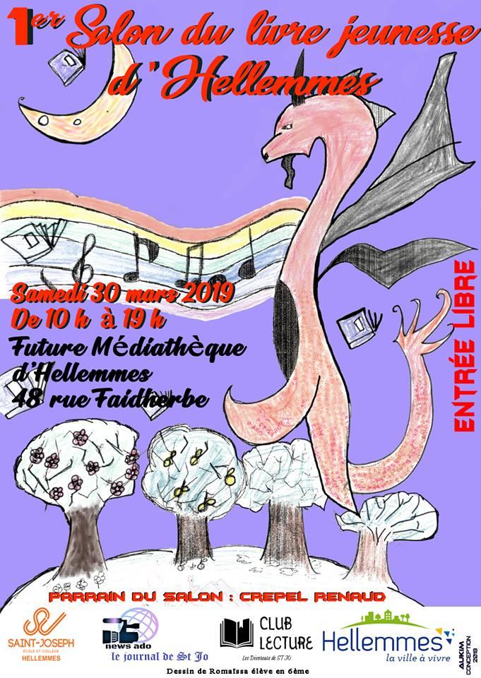 Salon Jeunesse d'Helemmes - 30 mars - crepel.renaud@hotmail.fr