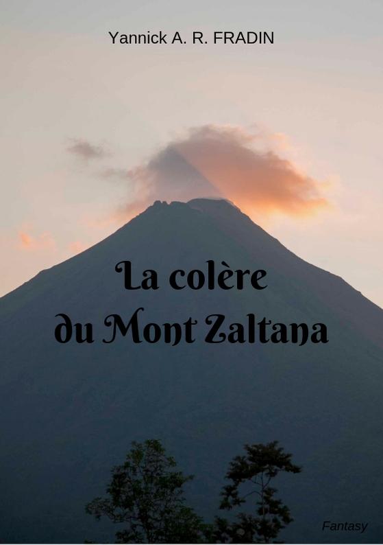 La Colère du Mont Zaltana - couv