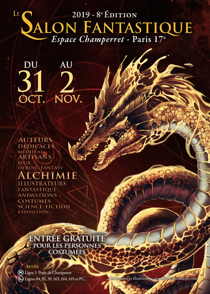Salon Fantastique 2019 affiche