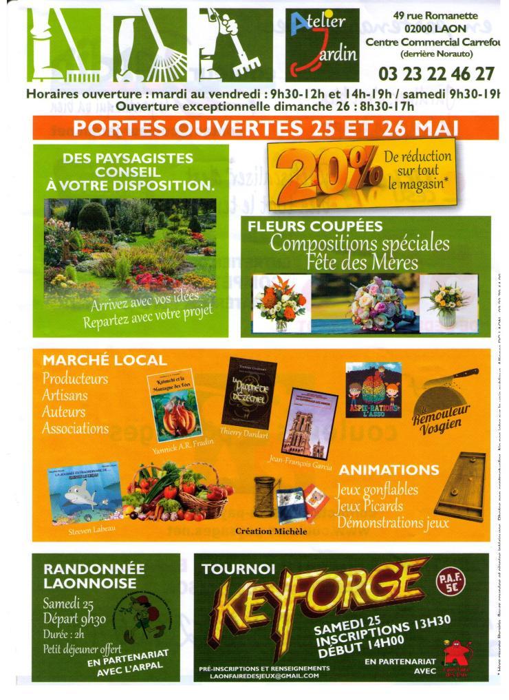 Atelier Jardin 25 26 mai