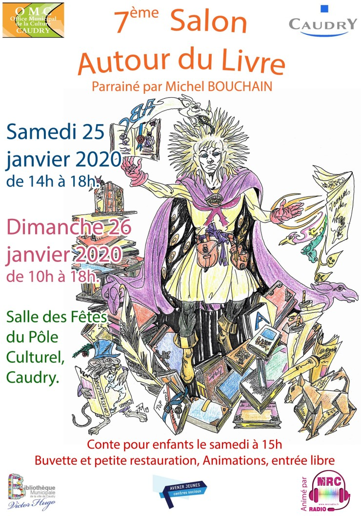 Salon Livre Caudry 25 & 26 janvier 2020