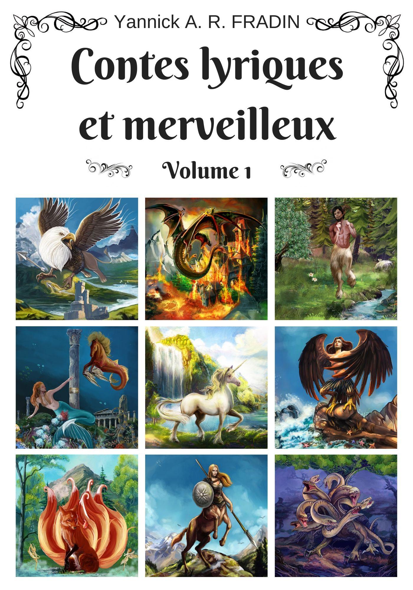 Contes lyriques et merveilleux - volume 1 - couv base