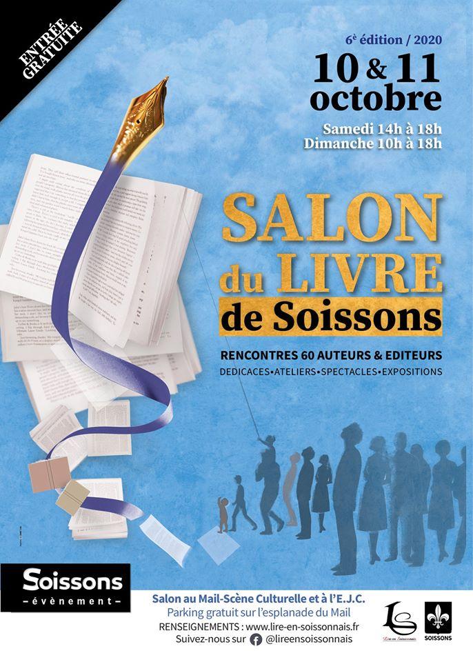 Salon du livre de Soissons 2020