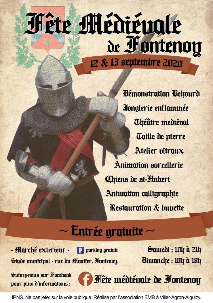 Fête médiévale de Fontenoy